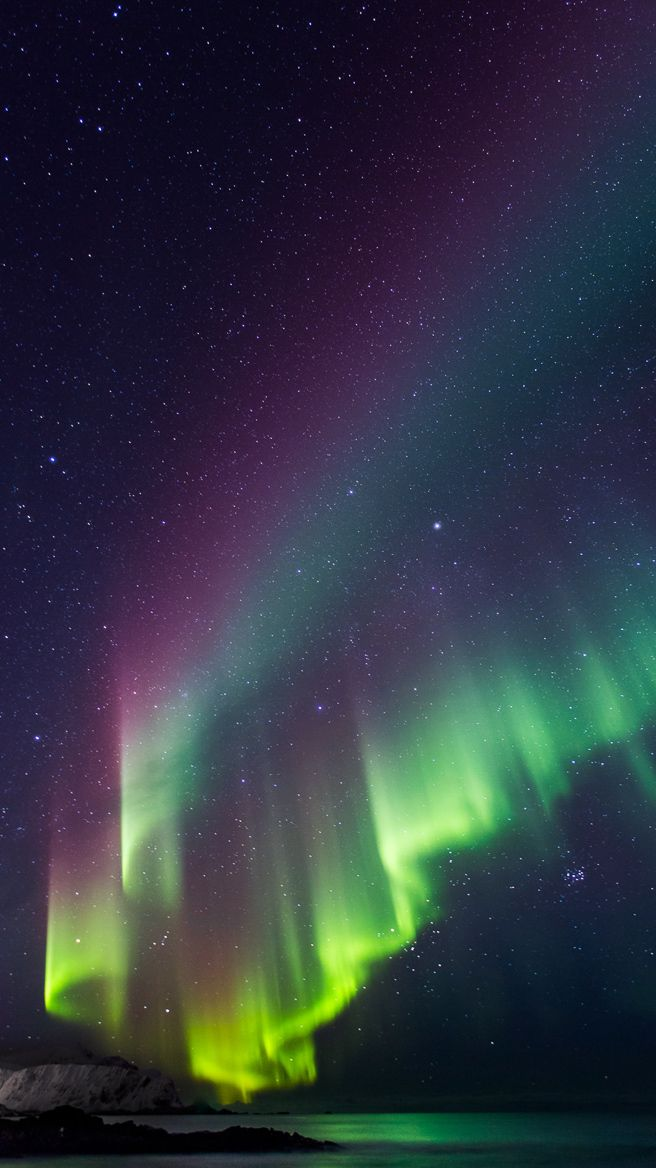 Iphone 5 Wallpapers Northen Lights Aurora Borealis Northern Lights Aurora