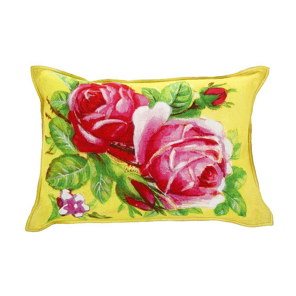 Discover the Pip Studio Art Yellow Roses Cushion - 40x60cm at Amara