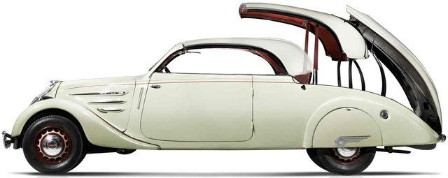 Fancy - Peugeot 402 Eclipse - The first retractable hardtop