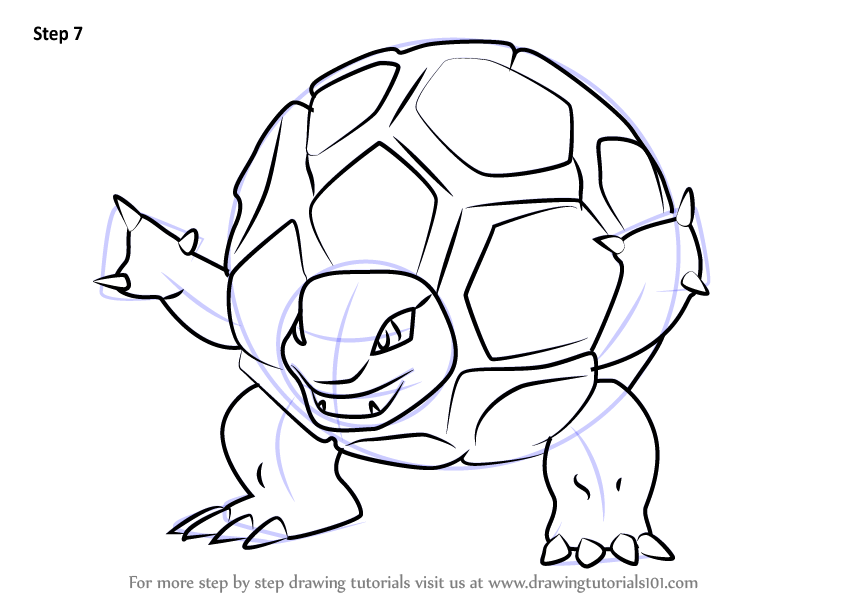 Learn How To Draw Golem From Pokemon Go Pokemon Go Step By Step Drawing Tutorials In 2020 Pokemon Go Pokemon Drawings