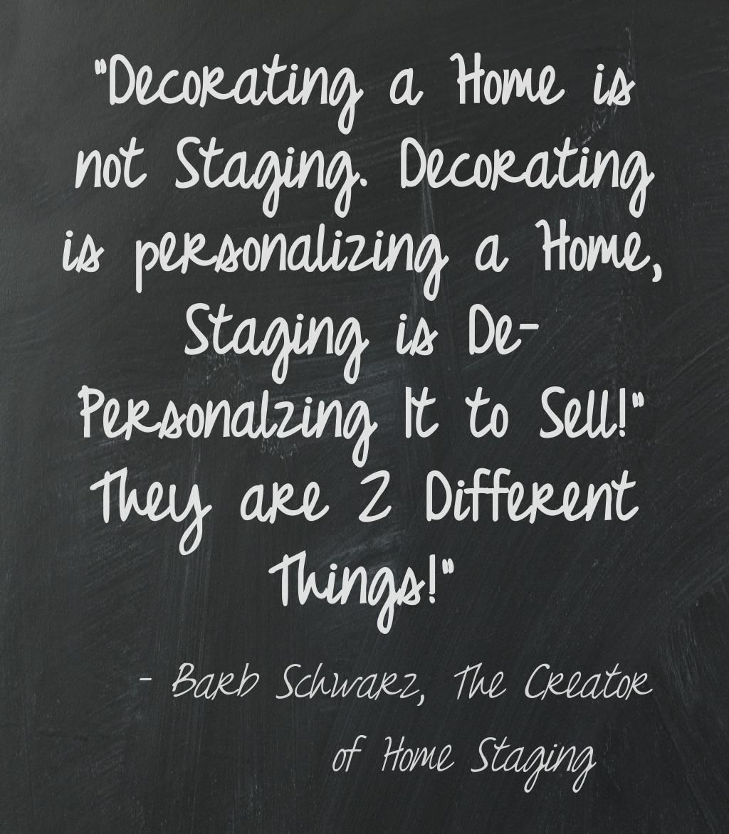 How To Stage A House Prior To Selling: I Invented Home Staging Because People Did Not Want To
