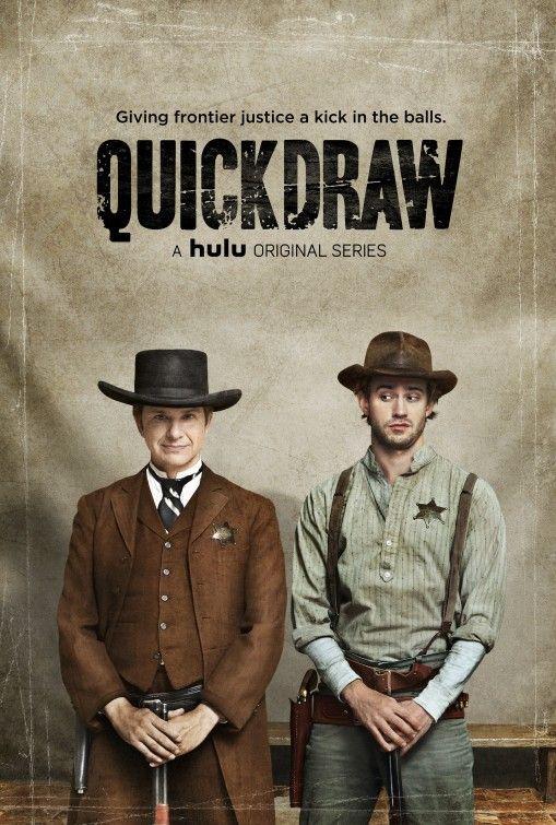 quickdraw--hulu original series---such a great comedy!