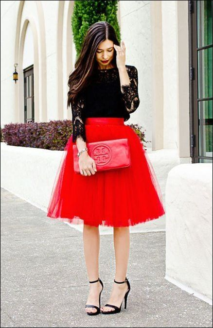 b715bb0ab1 Pin by Shannon Lewandowski on Christmas | Red tulle skirt, Red tutu ...