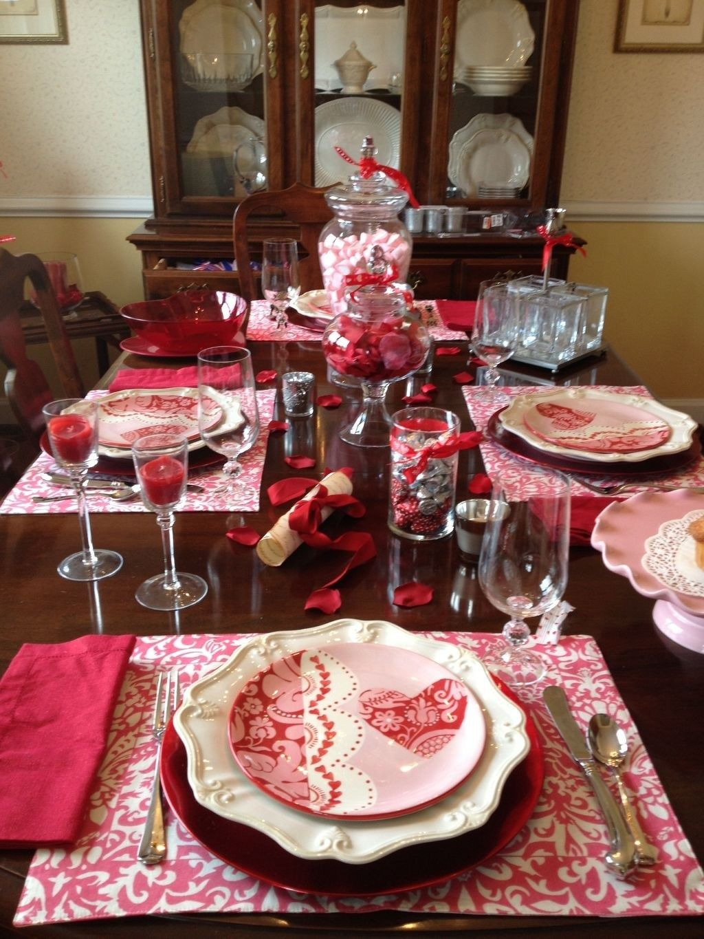 30+ Cute Valentine Dining Tables Decoration Ideas ...