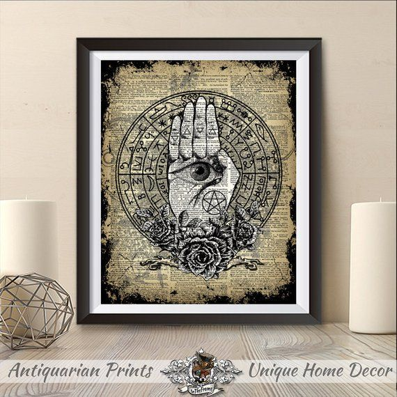 Witchcraft Wiccan Print
