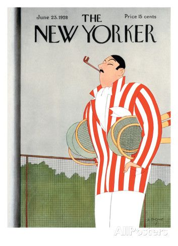 The New Yorker Cover - June 23, 1928 Regular Giclee Print di Leonard Dove su AllPosters.it