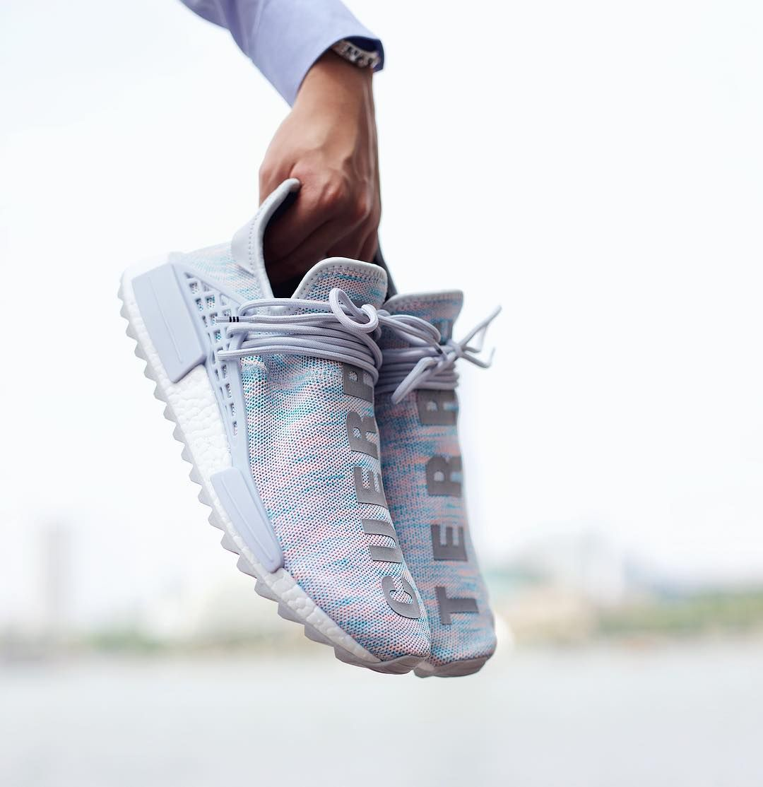 best loved 7be4e f27a8 Billionaire Boys Club (BBC) x Pharrell x adidas NMD Human Race Trail