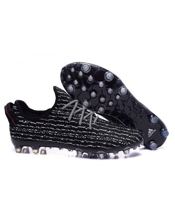67030e405fe8  2017 CHEAP  Adidas Yeezy 350 FootbAll Boots Black White Charming £57.80