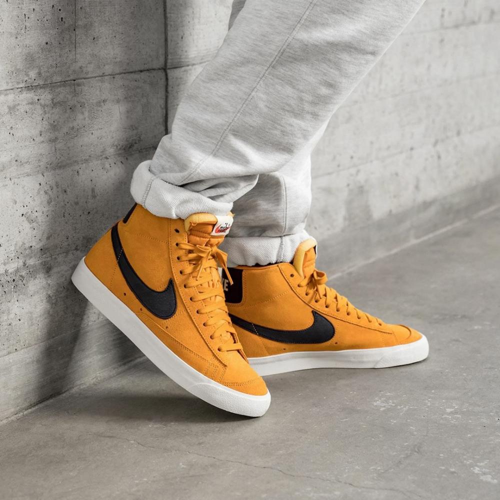 Nike Blaze 77 Amber Rise   Sneakers fashion, Mens high top shoes ...