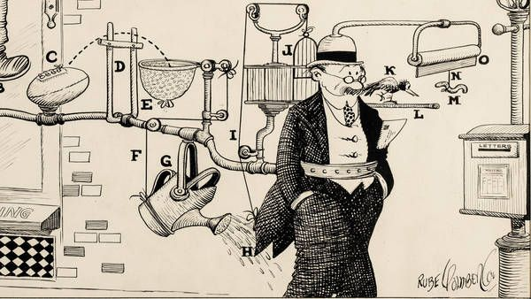 1000+ images about Rube Goldberg on Pinterest | Watches, Videos ...