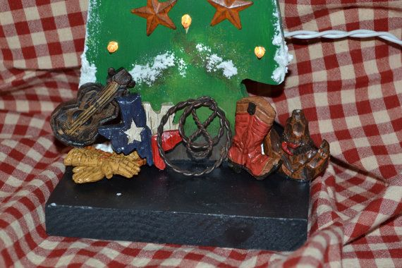 Country Christams Tree by HomeYall on Etsy, $25.95