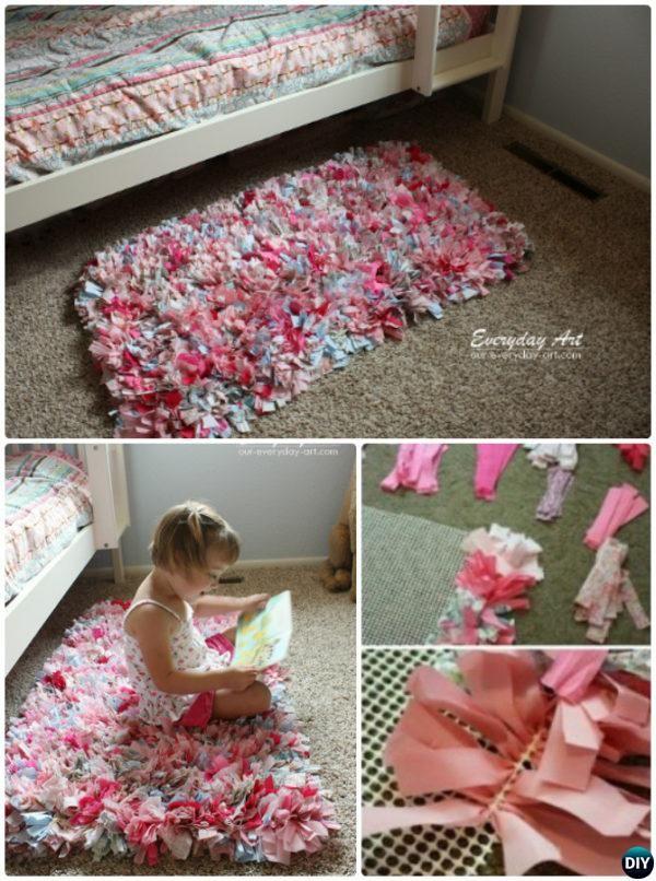 20 No Crochet Diy Rug Ideas Projects Instructions Rag