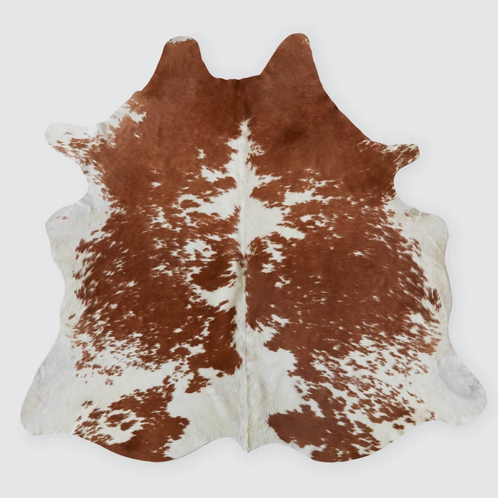 Brown White Cowhide Rug Natural Argentinian Cowhide The Citizenry In 2020 Cow Hide Rug White Cowhide Rug Real Cowhide Rugs