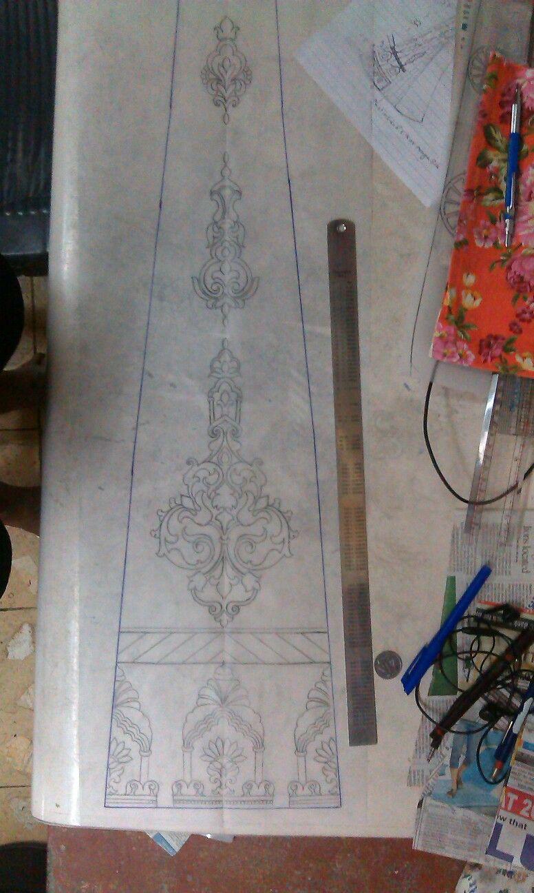 Kali design khakha pinterest embroidery patterns and