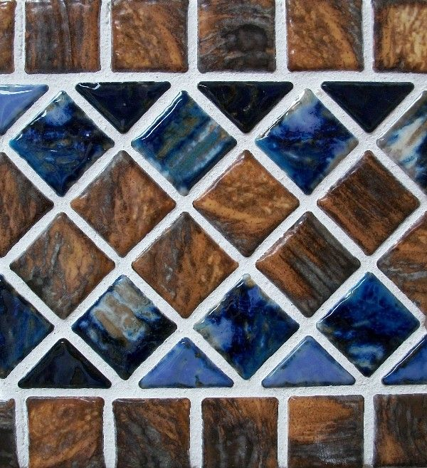 LuvTile | Sarasota Pool Tile | Pool Mosaics: Luv Mix Border