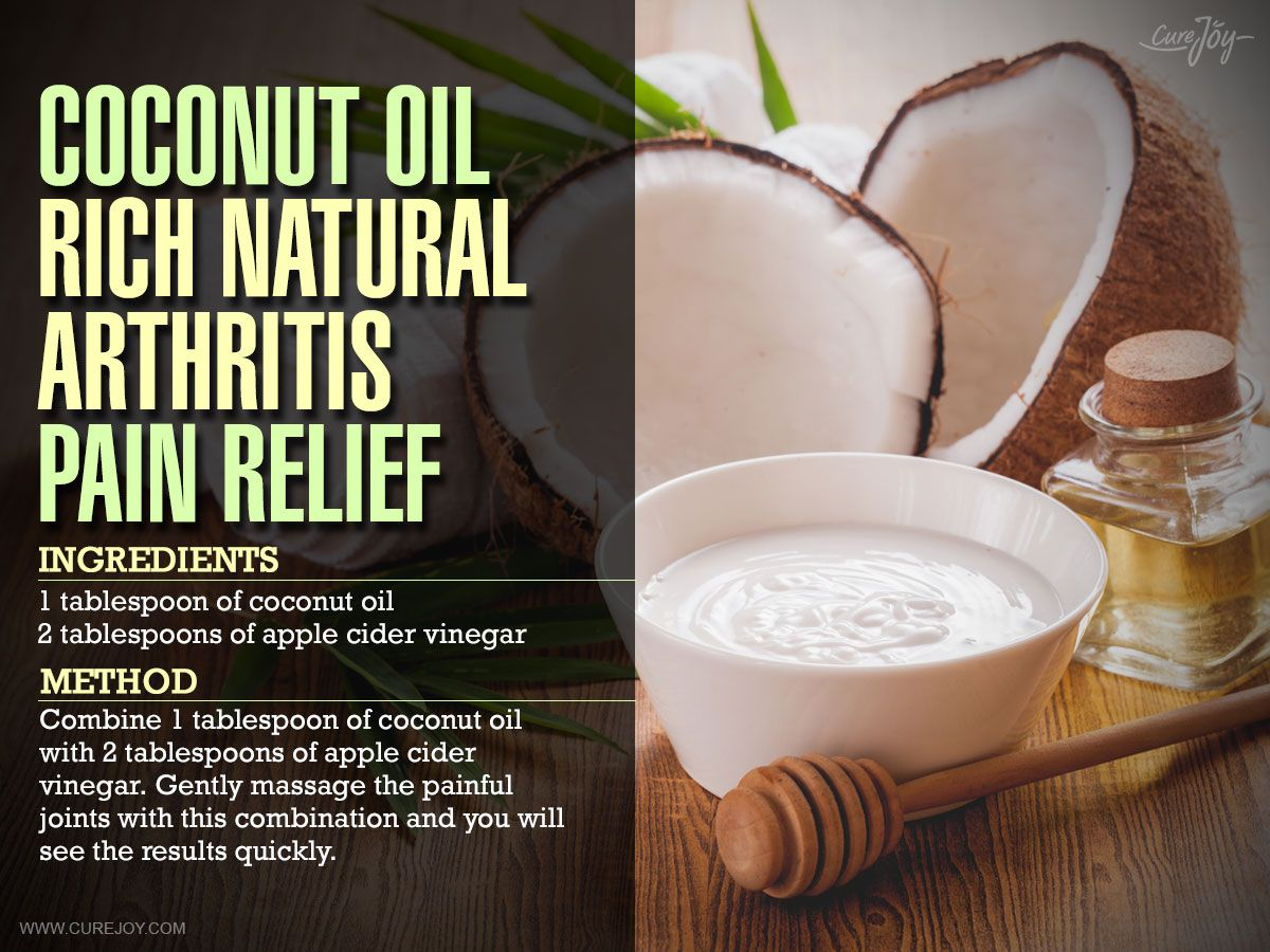 Get Relief From Arthritis And Joint Pain With This Coconut