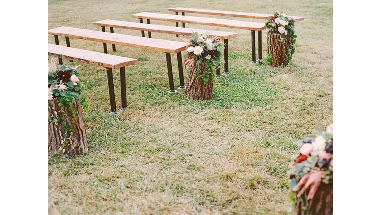 Industrial Wooden Benches House Wedding Bench Wedding Seating