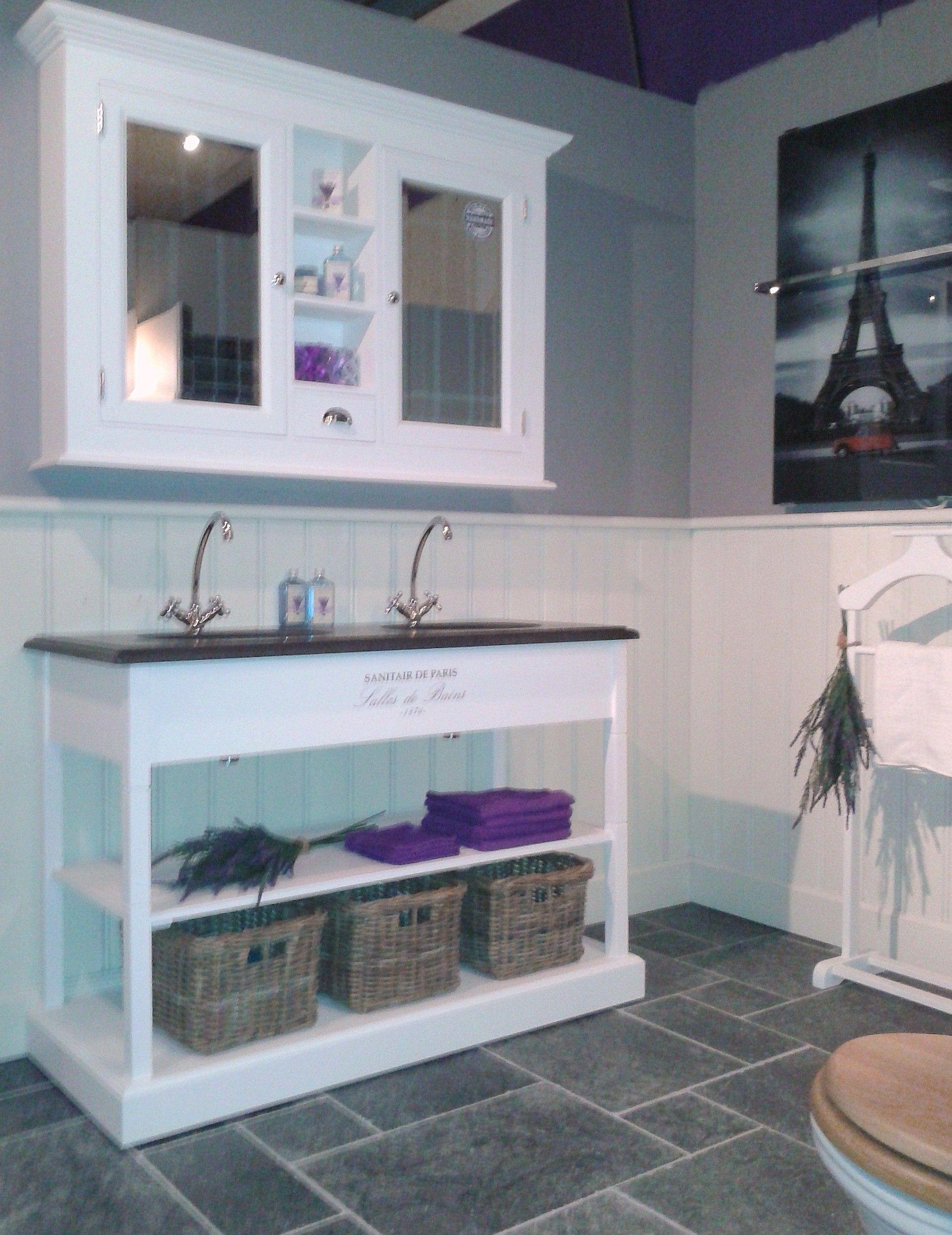 sanitaire de paris 130 cm badkamer meubel van heck experience