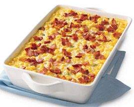 Bacon and Corn Pudding