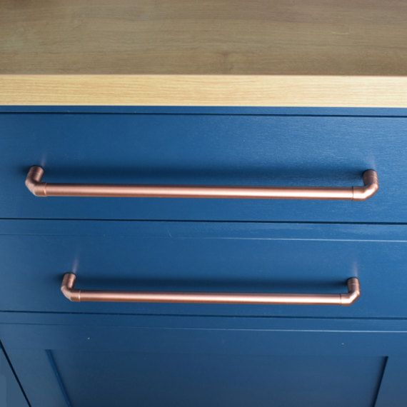 Copper Pull (Large Sizes). Drawer Handle. Drawer Pull. Cabinet ...