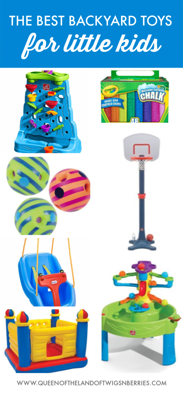 Best Backyard Toys + A Giveaway - Queen of the Land of ...