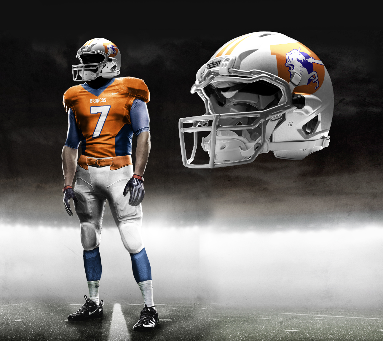 cd184472931 Pittsburgh Steelers Away by Nike. Denver Broncos New Uniforms 2013