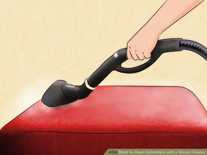Clean Upholstery With A Steam Cleaner