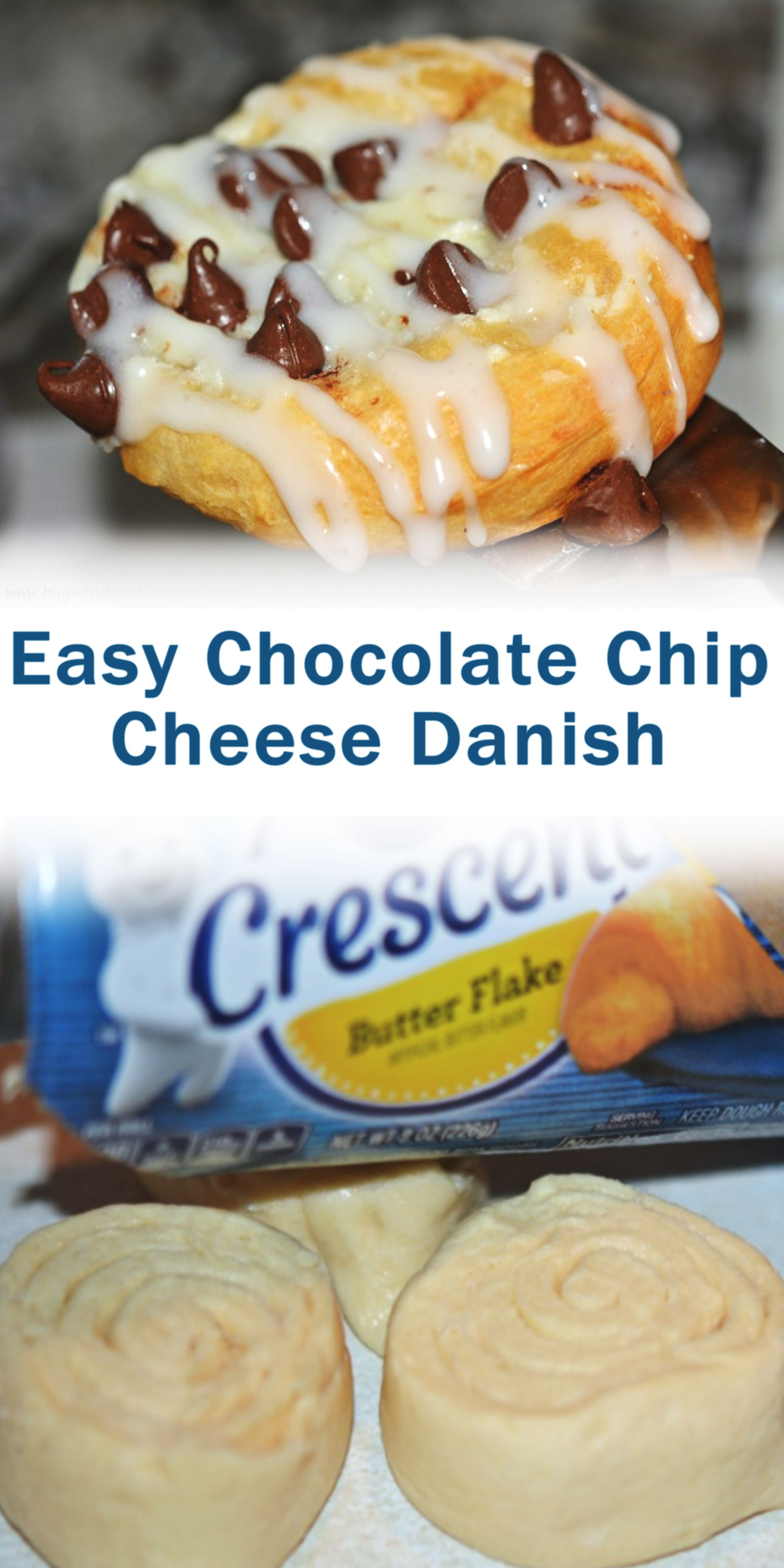 Easy Chocolate Chip Cheese Danish In 2020 Baked Dessert Recipes Dessert Recipes Best Dessert Recipes