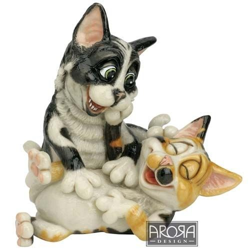 Alex and Jojo - Pets with Personality Collectible Dog Figurine