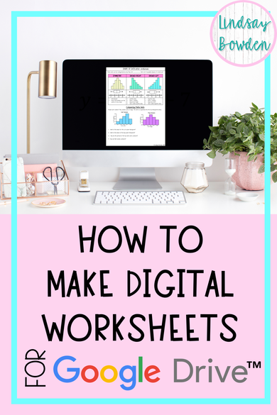 Learn how to convert PDF worksheets into digital worksheets that you can assign in Google Classroom™! It's very easy and will only take you a few minutes. Perfect for distance learning.
