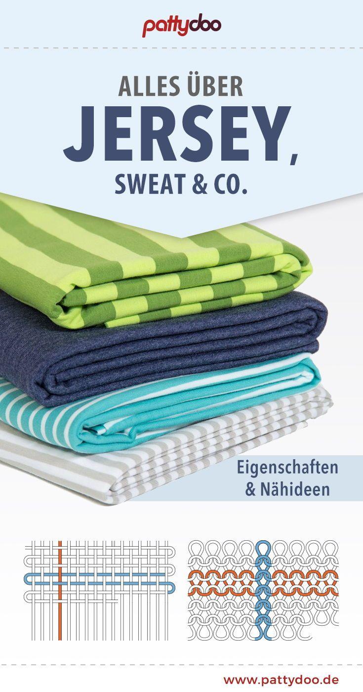 Jersey, Sweat & Co. – Eigenschaften und Nähideen