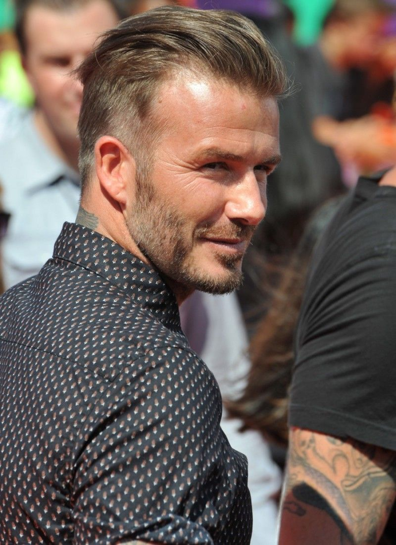David Beckhams Best Hairstyles Shaving Beards Staches Hair