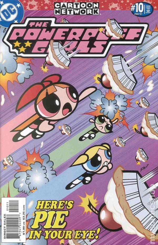 Powerpuff Girls (2000) comic books
