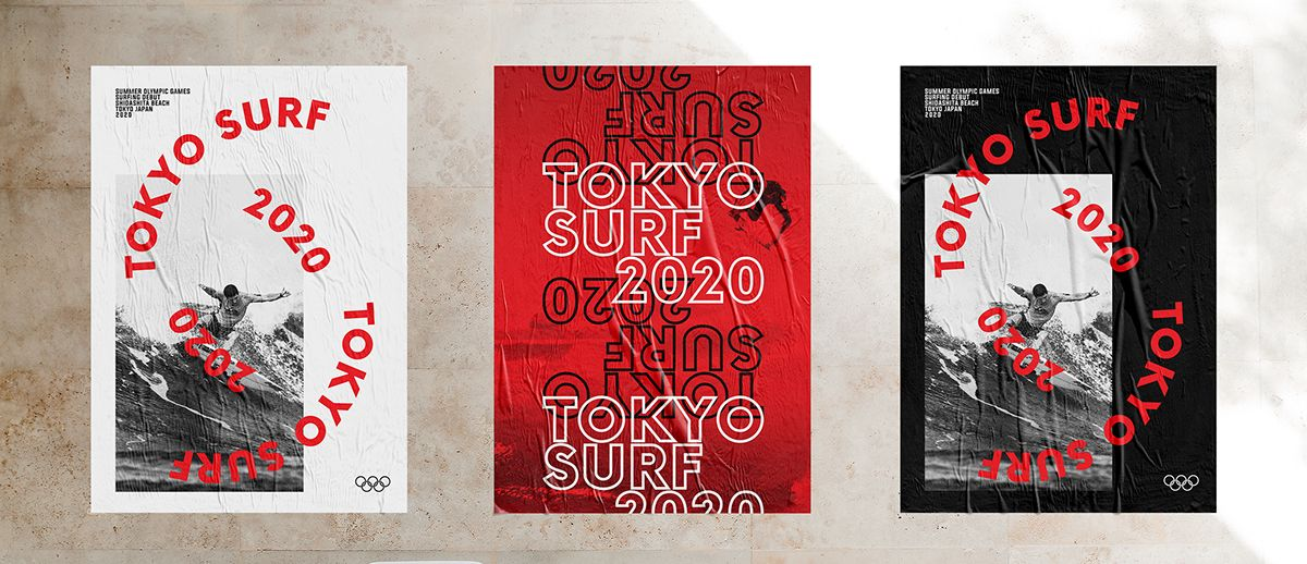 Tokyo Surf 2020 on Behance Surfing, Summer olympic games
