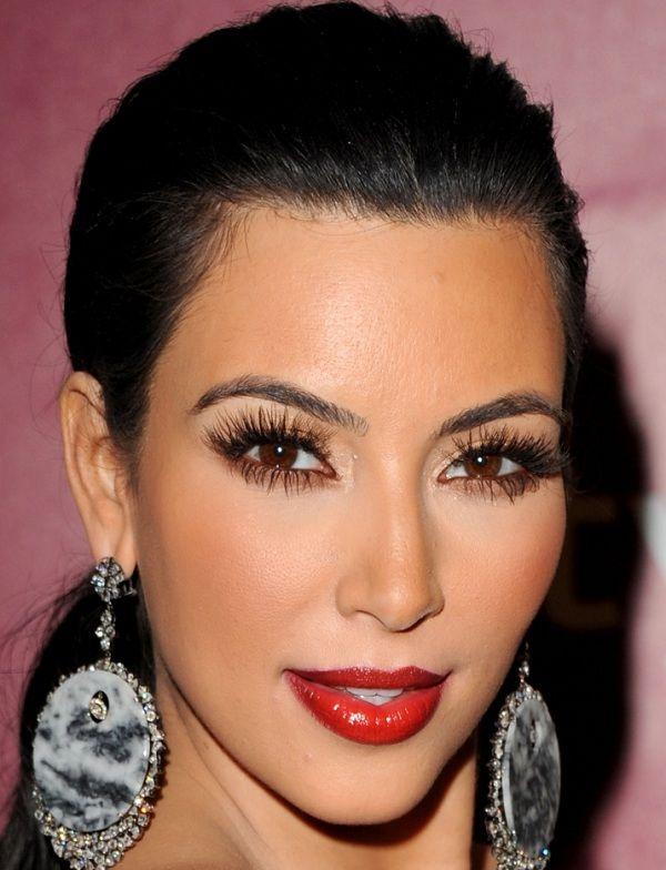 Kim Kardashian Red carpet Celebrity makeup looks   Indian Beauty Forever