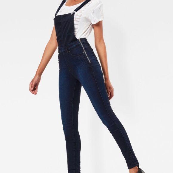 f54bacafe7f G-Star Pants - 3301 High waist Skinny G-Star Overalls