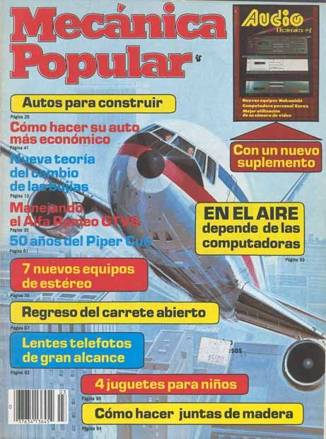 Marzo 1982: Cómo perforar materiales duros 50 años de Piper Cub 50 años de Piper Cub Filatelia - Bogotá, Buenos Aires, Lima 4 juguetes para sus niños Informe de los dueños: Ford-EXP -Herramientas para el auto -El probador de compresión AUTOS para construir - 7 herramientas para electrónica ...Ver más contenido http://www.mimecanicapopular.com/ver.php?a=1982&m=3