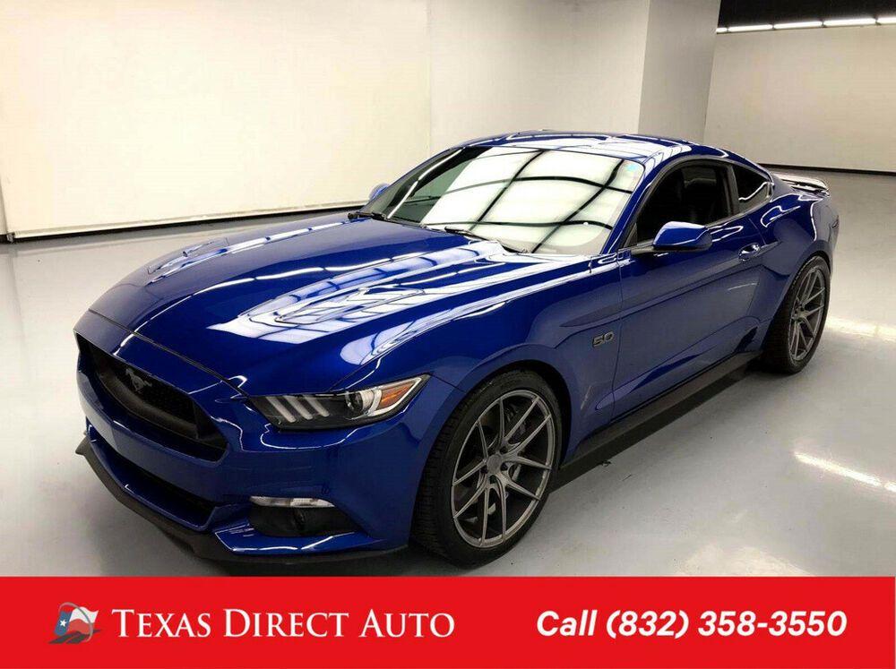 2017 Ford Mustang Gt Premium Texas Direct Auto 2017 Gt Premium