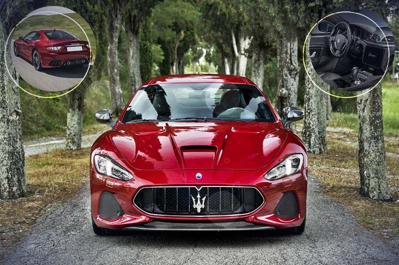 The 2019 Maserati GranTurismo is available in the UAE