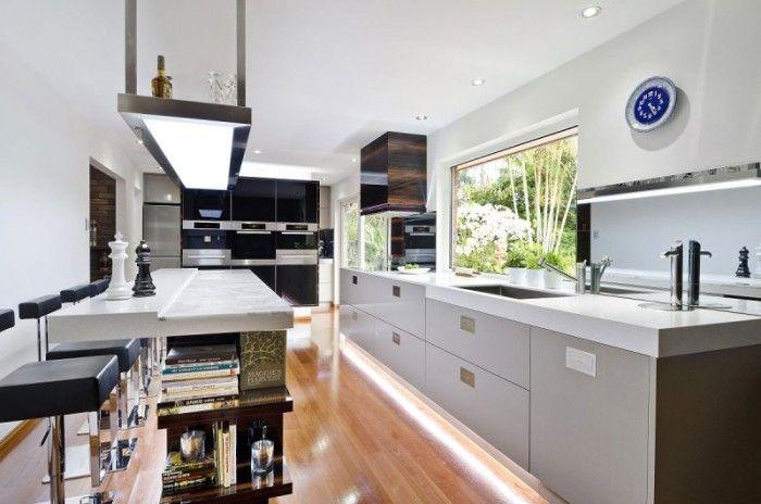 Una Cocina Contemporánea en Australia por Darren James   cuines ...