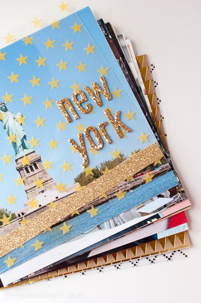 Diy Photo Album Album Photo De Voyage Page De Couverture