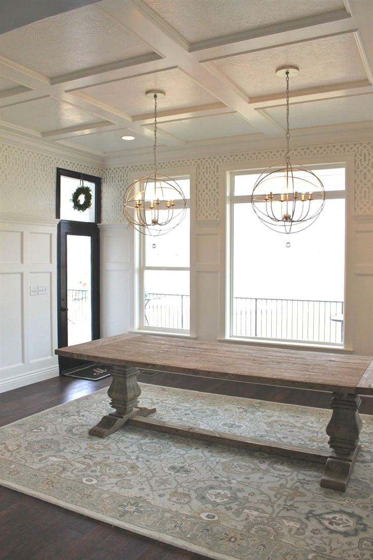 This is the reclaimed wood trestle table that  want maybe also best florida dining room decor ideas images in rh pinterest