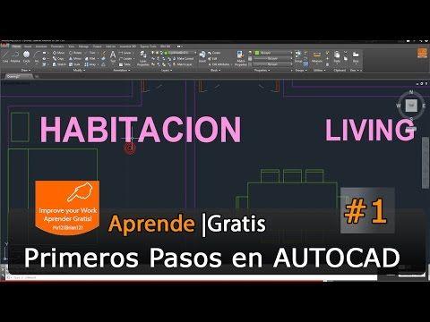 Curso completo autocad 2015 tutorial starter basico 01 for Curso arquitectura software