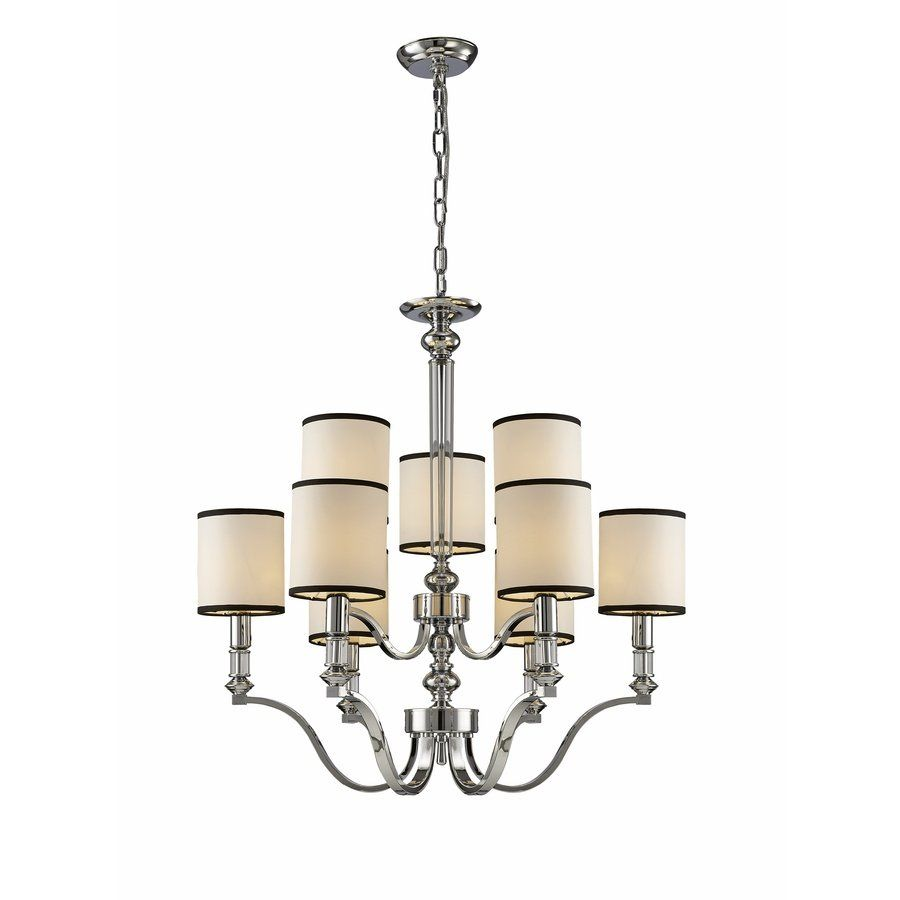 Source Lighting 9 Light Ribbon Multicolored Chandelier Lowe S Canada 310