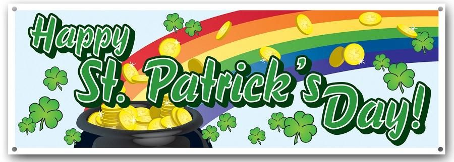 Image result for happy st. patrick's day banner