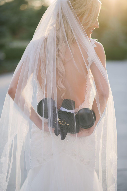 Cinderella inspired wedding dress  Disney wedding details  Lauren of Vandi Fair had the perfect