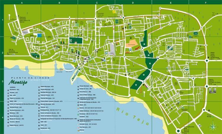 montijo mapa Câmara Municipal de Montijo | 1.8.5.2 | C.B. | Urban Abstract Maps  montijo mapa