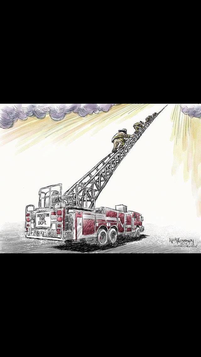 Houston Fire Dept- REST IN PEACE
