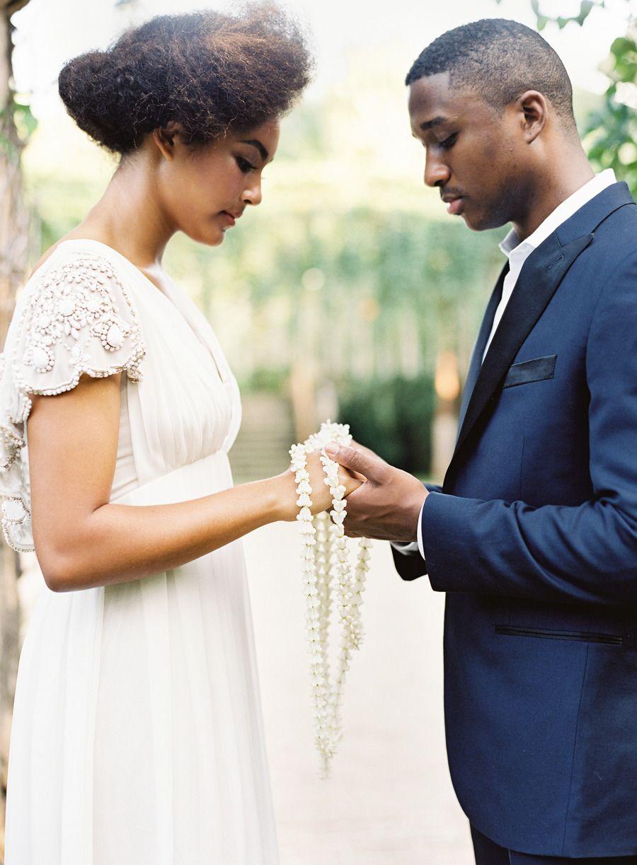 Romantic traditional hawaiian wedding inspiration catering