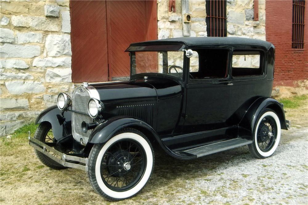 Ford Model A Door Sedan Barrett Jackson Auction Company